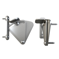 Rolltrak Stainless Steel Barn Door Latch