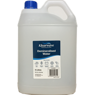 Klearwave 5L Demineralised Water
