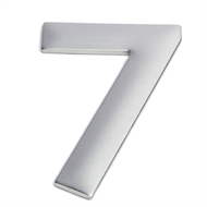 Sandleford 75mm 7 Stainless Steel Self Adhesive Numeral