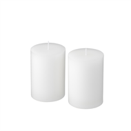 Waxworks 10cm Citronella Pillar Candle - 2 Pack