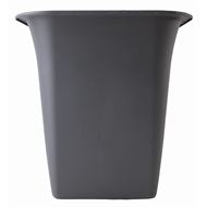 HomeLeisure 250mm Charcoal Balconia Square Planter