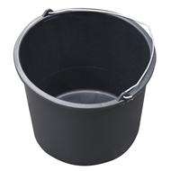 Whites On-Site 330 x 255mm 12L Rubber Builders Bucket