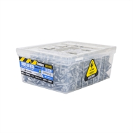 Buildex M6 x 50mm Climaseal Hex Head HiGrip With Seal Roof Zip Screws - 1000 Box