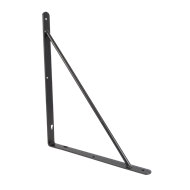 Carinya 300 x 250 x 20mm Black Studio Bracket