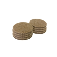 Surface Gard 38mm Round Self Adhesive Felt - 8 Pack