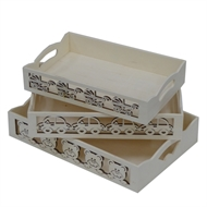 Boyle Plywood Nursery Trays Set of 3