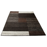 Hufflett 160 x 230cm Square Brown Sahara Heat Set Polypropylene Rug