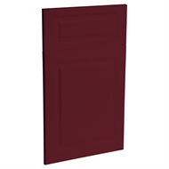 Kaboodle 450mm Heritage Vinyl 1 Door / 1 Drawer Panel - Seduction Red