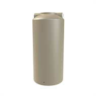 Melro 800L Polyethylene Round Water Tank - Wheat