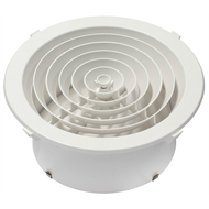 CSR Edmonds Ventilation 250mm Round Ceiling Grill Vent