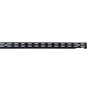 Flexi Storage 300mm Black Double Slot Wall Strip