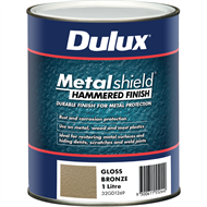 Dulux Metalshield 1L Hammered Finish Bronze