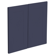 Kaboodle 600mm Bluepea Alpine Rangehood Cabinet Doors - 2 Pack
