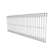 Protector Aluminium 2400 x 900 x 40mm Black Steel Wire Mesh Fence Panel