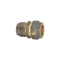 Kinetic 20C x 15C Brass Reducing Compression Union