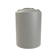 Melro 500L Round Poly Water Tank - Birch Grey