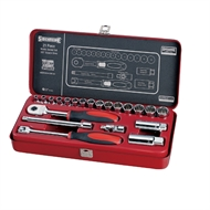 Sidchrome 21 Piece 3/8dr Metric Socket Set