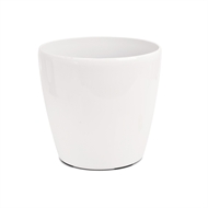 Eden 38 x 35cm White Self Watering Round Pot