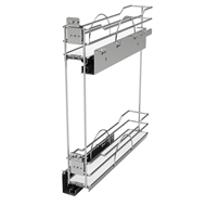Rev-A-Shelf Two Tier Pull Out Basket For 150mm Cabinet