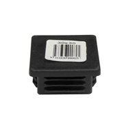 Australian Handyman Supplies 30 x 30mm Black Plastic Cap Insert