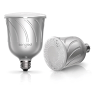 Sengled Pulse Smart LED Light And JBL Bluetooth Music Speaker Kit - E27 Silver