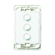 HPM VIVO 3 Gang Wall Switch - No Coverplate
