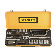 Stanley 49 Piece Socket and Spanner Set