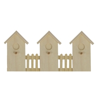 Boyle Plywood House Hook Rack