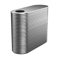 Kingspan 1000L Slim Steel Water Tank - 550mm x 1560mm x 1400mm Galvanised