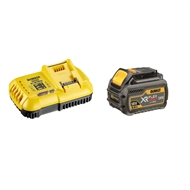 DeWALT 6.0Ah Flexvolt Battery And Charger Starter Kit