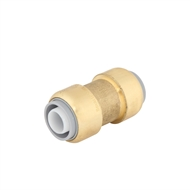 SmarteX 20mm Push Fit Brass Pex Connector