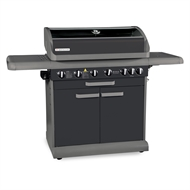 Matador 6 Burner Hooded Boss BBQ With Side Burner