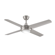 ThreeSixty 52in Aspire Ceiling Fan - Brushed Nickel