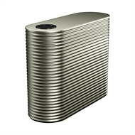 Kingspan 1500L Slim Steel Water Tank - 550mm x 1560mm x 1400mm Mangrove
