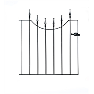 The Grange Decorative Gates 855 x 945mm Cheltenham Low Gate