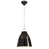 Brilliant 240V Black Alexander Pendant Light