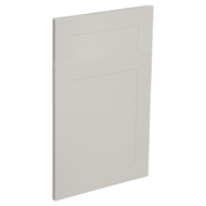 Kaboodle 450mm Alpine Premium Vinyl 1 Door / 1 Drawer Panel - Cremasala
