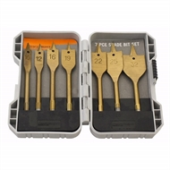 Craftright 7 Piece Titanium Spade Bit Set
