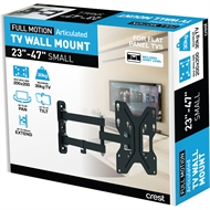 Crest Small Full Motion TV Wall Mount