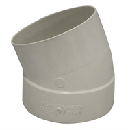 Holman 90mm 22.5° M-F PVC Stormwater Elbow