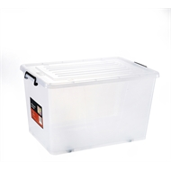 All Set 88L Storage Container With Lid