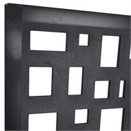 Matrix 2410 x 1205mm Charcoal Mosaic Screen Panel