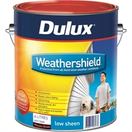 Dulux Weathershield 4L Low Sheen Mission Brown Exterior Paint