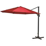 Mimosa 3m Red Round Koko Cantilever Umbrella