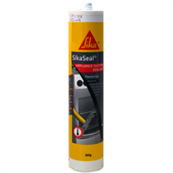 Sika 300g Black Sikaseal Appliance Silicone Sealant
