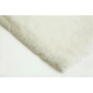 160 x 220cm White Octet Cloud Faux Fur Polyester Rug