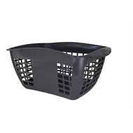Homeleisure 45L Hip Huggers Laundry Basket - Charcoal