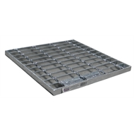 Everhard 345mm Class A Galvanised Grate - Series 300
