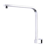 Mondella 300mm Chrome Wall Curved Concerto Shower Arm