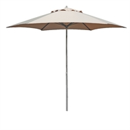 Hartman 2.1m Push Up Market Umbrella